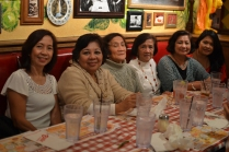 Aunts and ninangs, Mom and sister