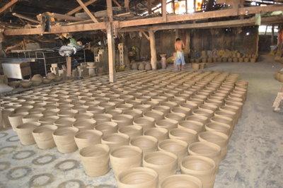 Pagburnayan Pottery in Vigan, Ilocos Sur