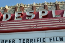 Theater marquee, Des Plaines, IL