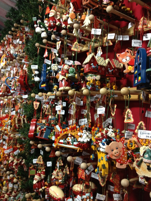 Tiny wood ornaments