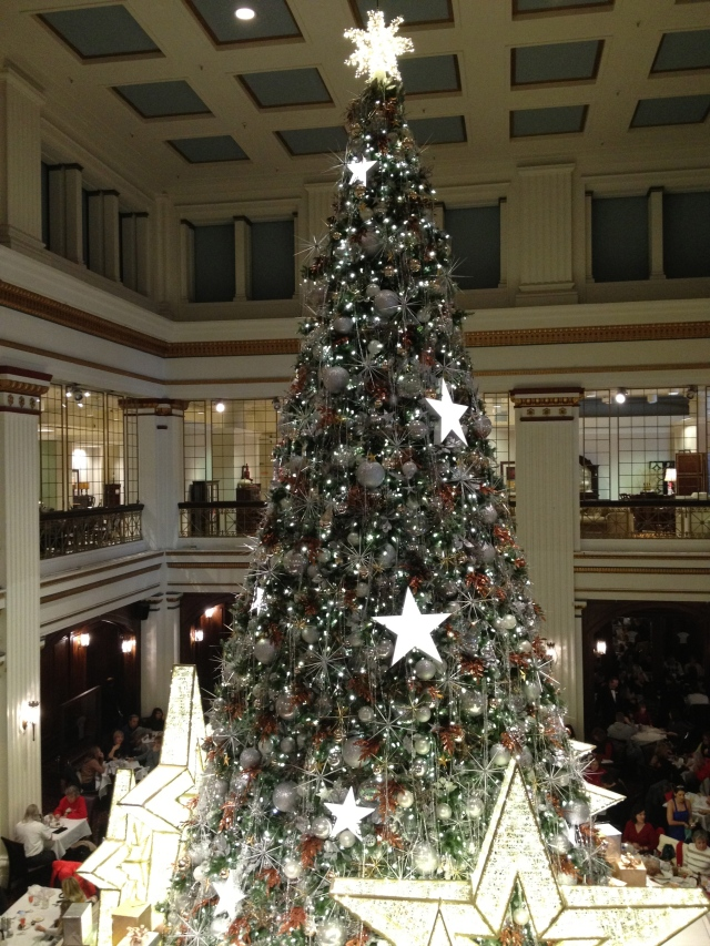 The Large Tree at the Walnut Room