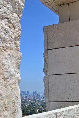 LA from Paul Getty Museum