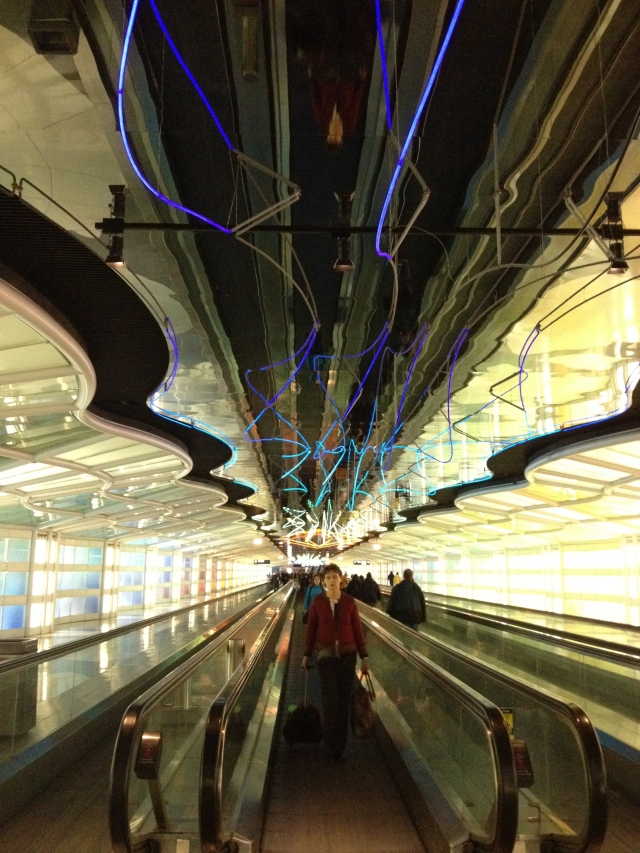 United Airlines terminal, O'Hare