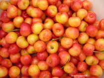 Rainier cherries - my favorite