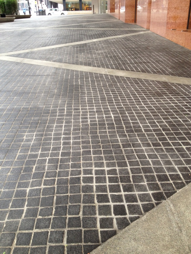 The outside flooring