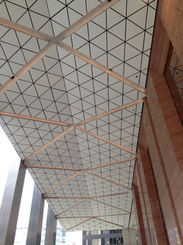 Outside ceiling