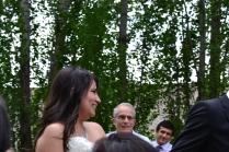 Her wedding day!
