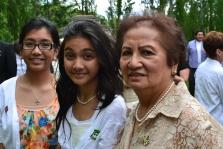 Auntie Claire, Mia and Alyssa