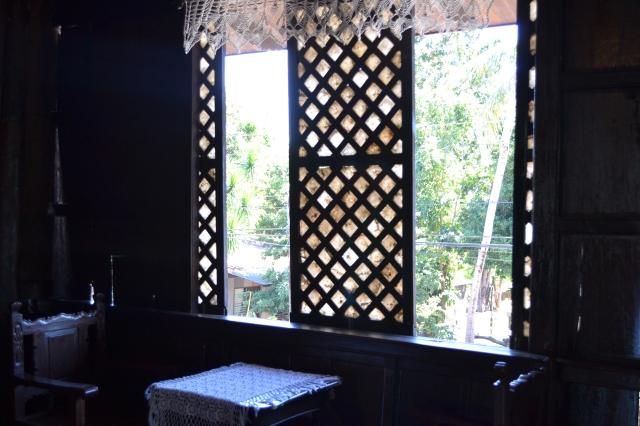 Capiz window panes