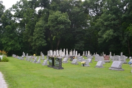A Lutheran cemetery