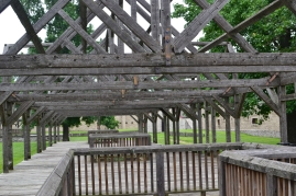 They had these unfinished structures - to leave it out for your imagination