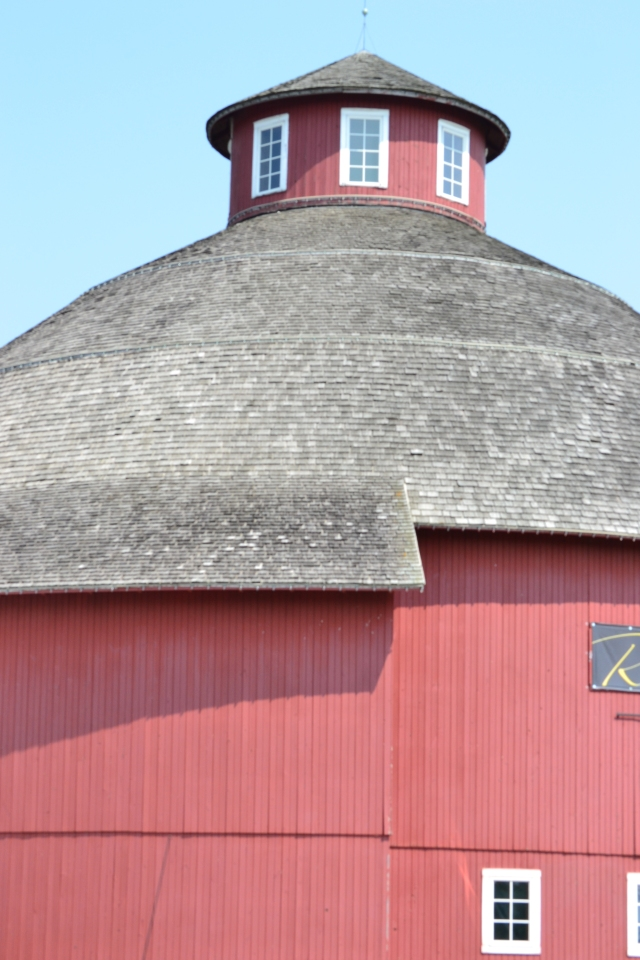 A round barn roof