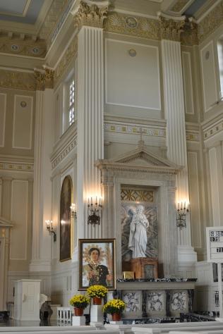 The mass was also a memorial to San Lorenzo Ruiz (St. Lawrence Ruiz), a Filipino saint