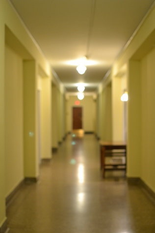 Hallway to our wing