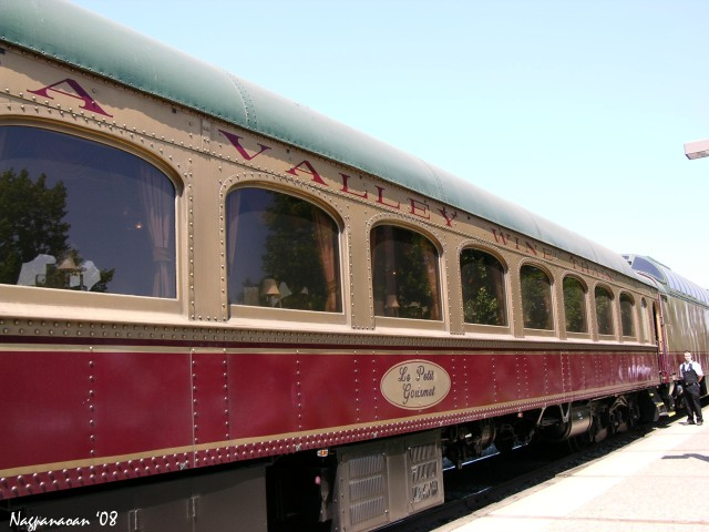 Napa Valley train tour