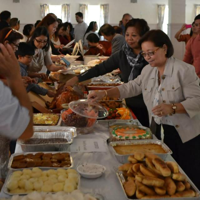 The Filipino community pitching in for Family Day at Mundelein Seminary