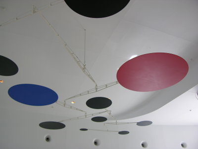 Red, Black and Blue at Milwaukee Museum
