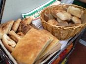 Fresh-baked breads