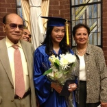 A with grandpa and grandma