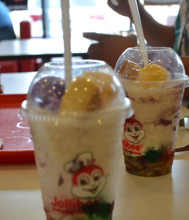 Halo-halo @ Jollibee, a favorite summer refresher