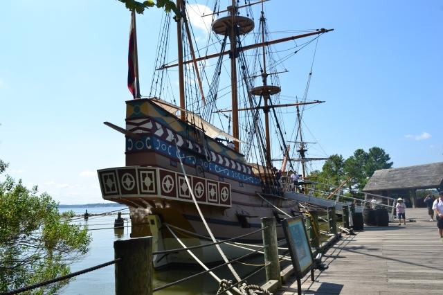 A replica at Jamestown