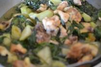 Filipino soup - chicken tinola