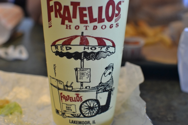 Lunch at Fratello's their version of Portillos